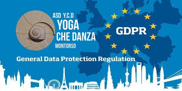 Informativa per i soci PRIVACY  INFORMATIVA ex art. I3 del Regolamento (UE) 2016/679 per i SOCI  Y. C.D. YOGA CHE DANZA