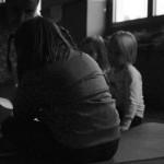 Il gruppo di bambini durante la lezione Yoga Aperta e gratuita
