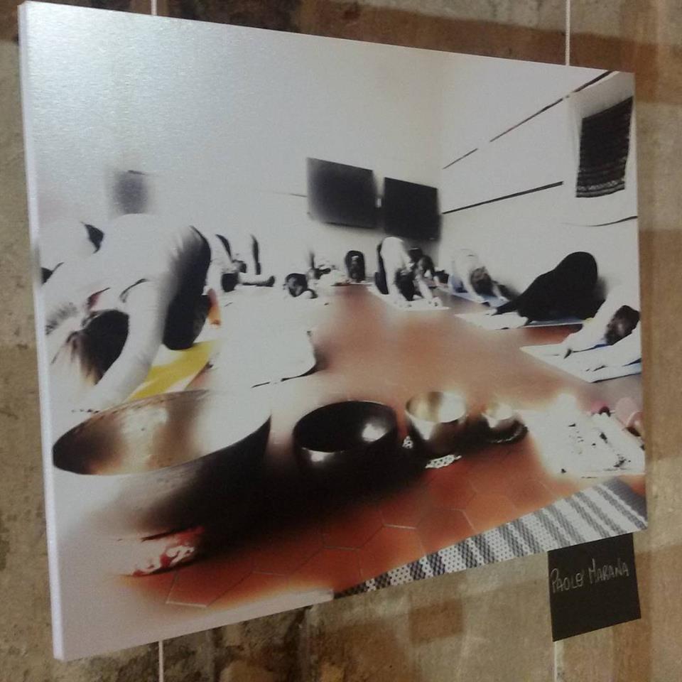 Esposizione della foto YOGA MONTORSO presso Villa da Porto a Montorso