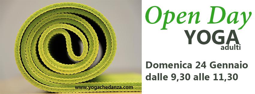 open day yoga che danza