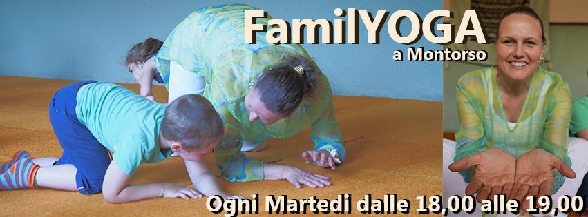 FamilYOGA Montorso fai yoga con tuo figlio Giugno 2016