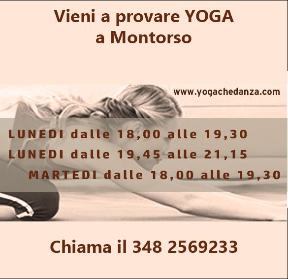 Orari Yoga a Montorso