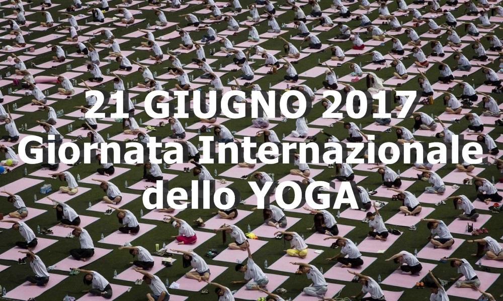 21 giugno Giornata Internazionale delo YOGA