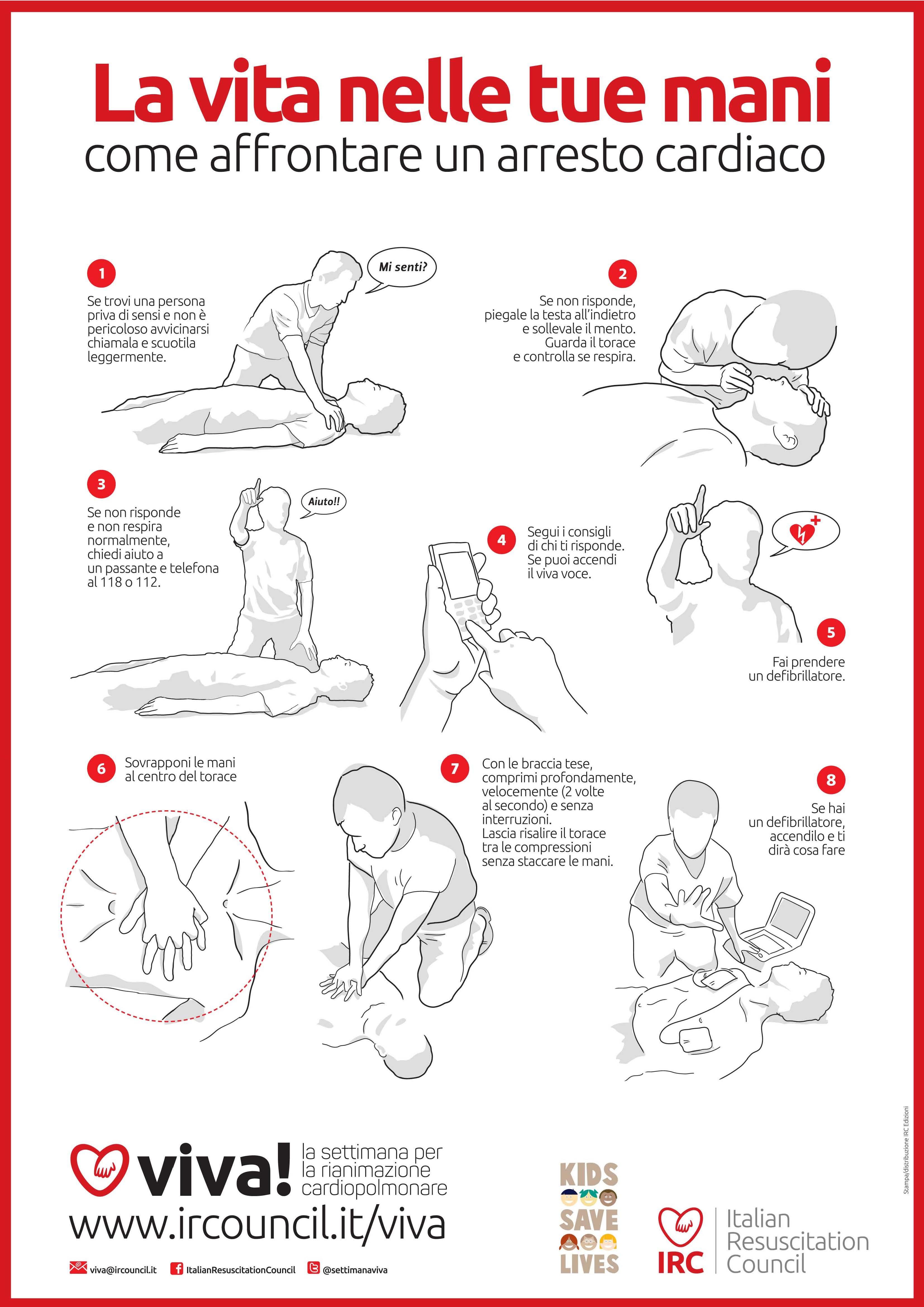 come affrontare arresto cardiaco