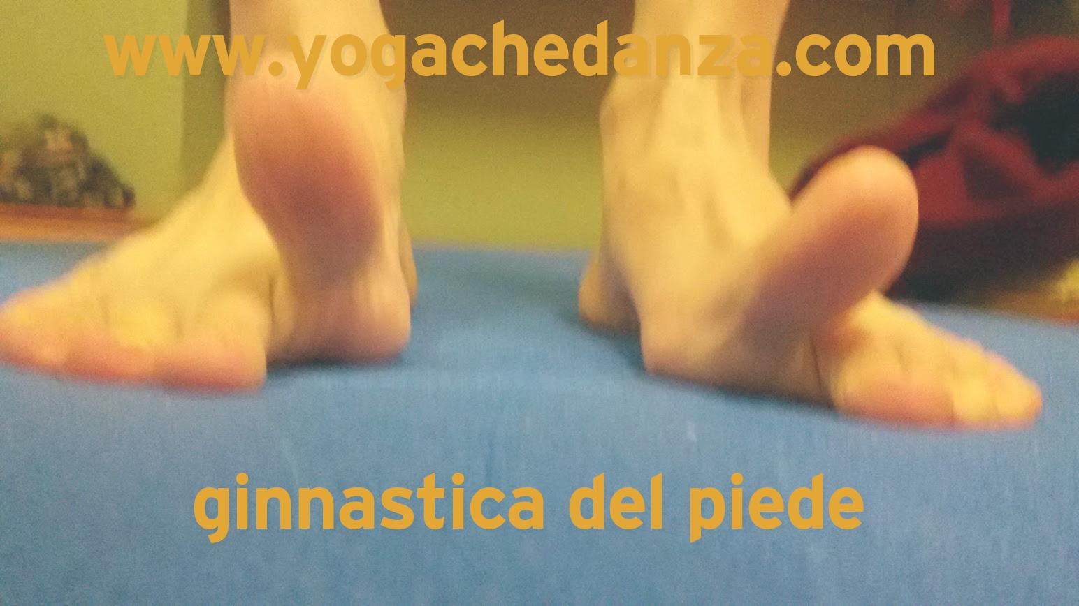 apertura del piede