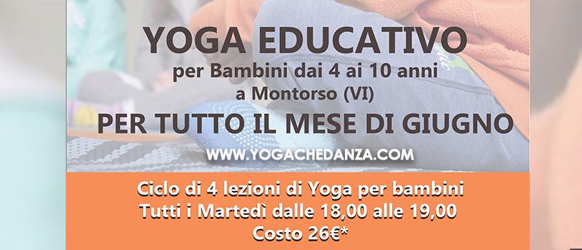 Yoga Bimbi Montorso GIUGNO
