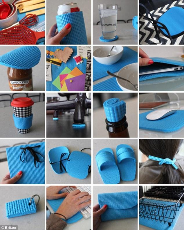 come riciclare tappetino