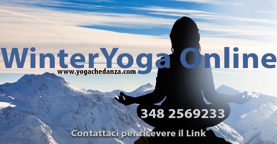yoga winter lezione yoga online